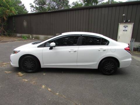 2014 Honda Civic for sale at Nutmeg Auto Wholesalers Inc in East Hartford CT