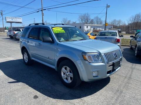 2008 Mercury Mariner Hybrid for sale at MetroWest Auto Sales in Worcester MA