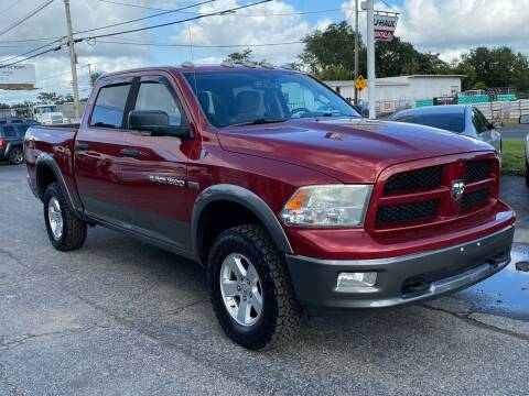 2012 RAM Ram Pickup 1500 for sale at MetroWest Auto Sales in Worcester MA