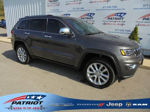 2017 Jeep Grand Cherokee for sale at PATRIOT CHRYSLER DODGE JEEP RAM in Oakland MD