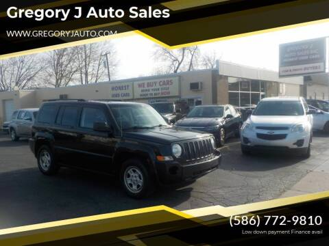 2008 Jeep Patriot for sale at Gregory J Auto Sales in Roseville MI