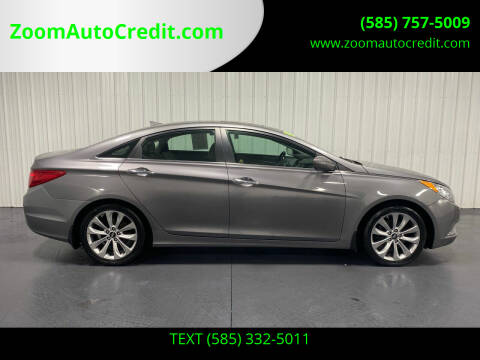 2012 Hyundai Sonata for sale at ZoomAutoCredit.com in Elba NY