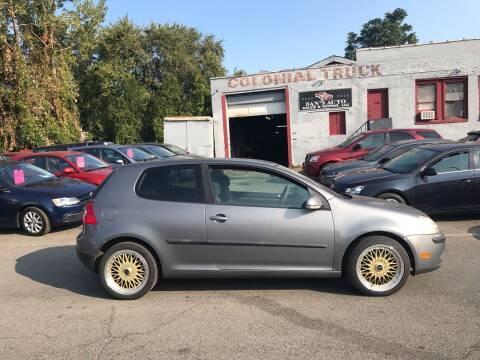 2007 Volkswagen Rabbit for sale at Dan's Auto Sales and Repair LLC in East Hartford CT