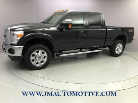 2015 Ford F-250 Super Duty for sale at J & M Automotive in Naugatuck CT