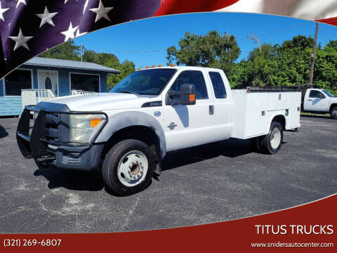 2011 Ford F-550 Super Duty for sale at Titus Trucks in Titusville FL