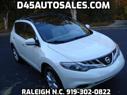 2013 Nissan Murano for sale at D45 Auto Brokers in Raleigh NC