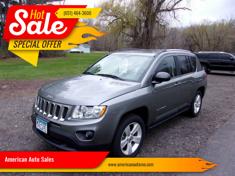 2011 Jeep Compass for sale at American Auto Sales in Forest Lake MN