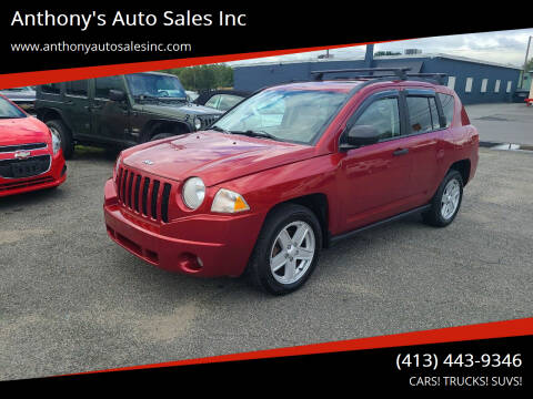 2007 Jeep Compass for sale at Anthony's Auto Sales Inc in Pittsfield MA