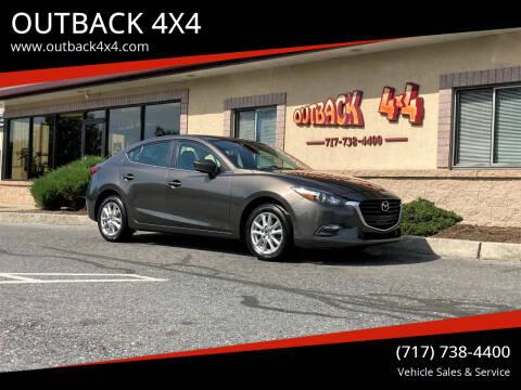 2018 Mazda MAZDA3 for sale at OUTBACK 4X4 in Ephrata PA