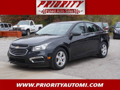 2015 Chevrolet Cruze for sale at Priority Auto Sales in Muskegon MI