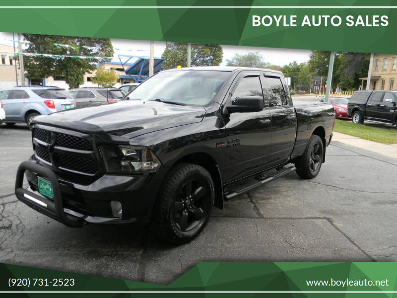 2017 RAM Ram Pickup 1500 for sale at Boyle Auto Sales in Appleton WI