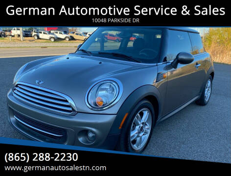 2013 MINI Hardtop for sale at German Automotive Service & Sales in Knoxville TN