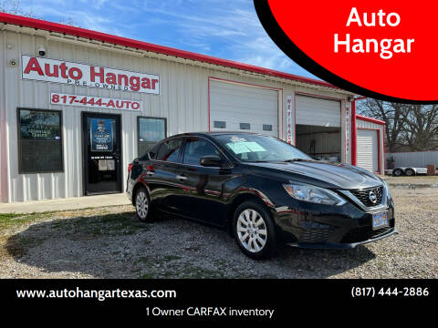 2016 Nissan Sentra for sale at Auto Hangar in Azle TX