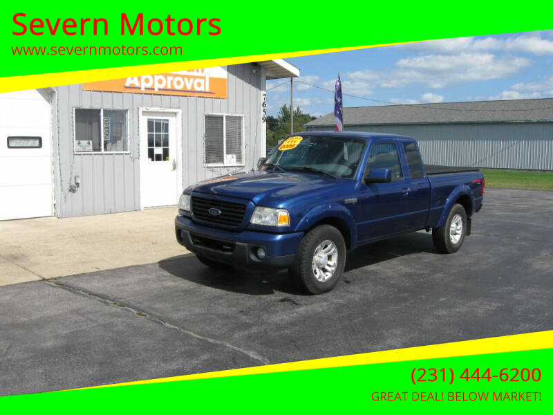 2009 Ford Ranger for sale at Severn Motors in Cadillac MI