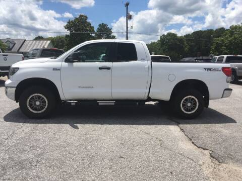 2007 Toyota Tundra for sale at TAVERN MOTORS in Laurens SC