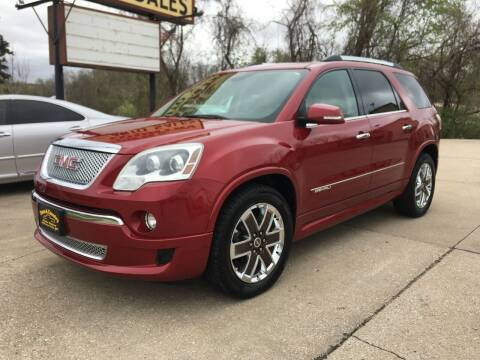 2012 GMC Acadia for sale at Town and Country Auto Sales in Jefferson City MO