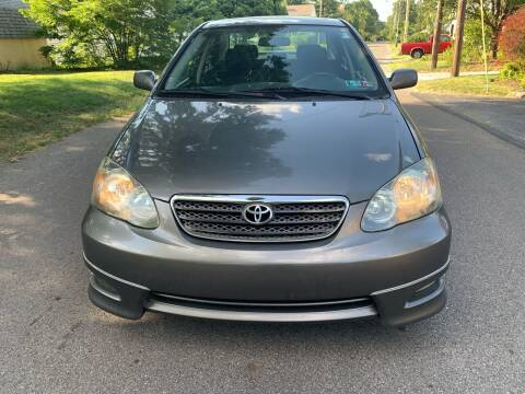 2007 Toyota Corolla for sale at Via Roma Auto Sales in Columbus OH