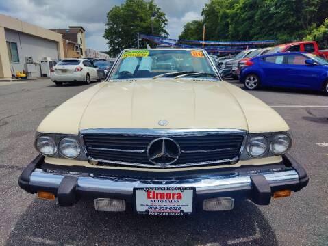 1980 Mercedes-Benz 450 SL for sale at Elmora Auto Sales in Elizabeth NJ