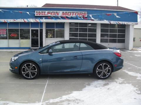 2016 Buick Cascada for sale at Wilson Motors in Junction City KS