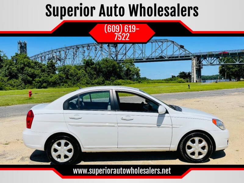 2008 Hyundai Accent for sale at Superior Auto Wholesalers in Burlington NJ
