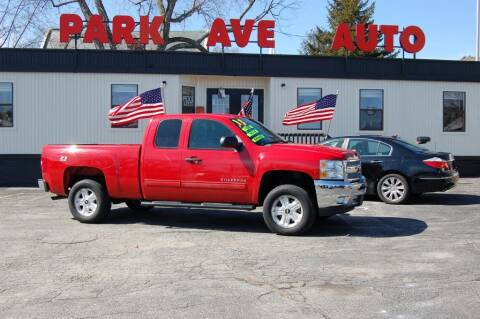 2013 Chevrolet Silverado 1500 for sale at Park Ave Auto Inc. in Worcester MA