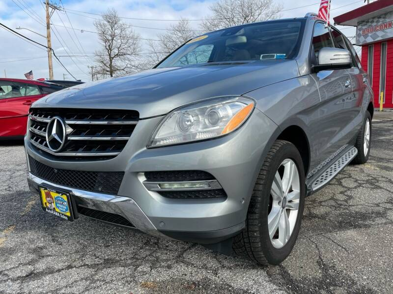 2014 Mercedes-Benz M-Class for sale at AUTORAMA SALES INC. - Farmingdale in Farmingdale NY