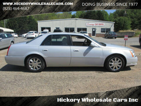 2007 Cadillac DTS for sale at Hickory Wholesale Cars Inc in Newton NC