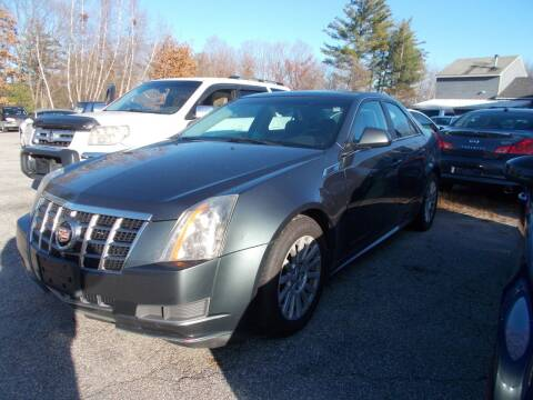 2012 Cadillac CTS for sale at Manchester Motorsports in Goffstown NH