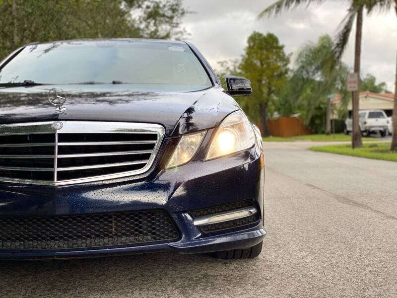 2012 Mercedes-Benz E-Class for sale at HIGH PERFORMANCE MOTORS in Hollywood FL