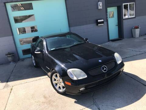 2001 Mercedes-Benz SLK for sale at Enthusiast Autohaus in Sheridan IN