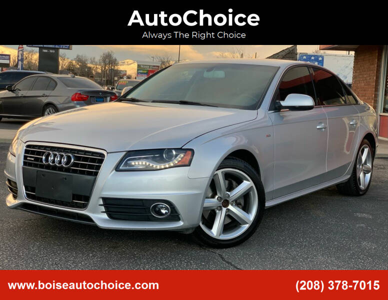 2012 Audi A4 for sale at AutoChoice in Boise ID