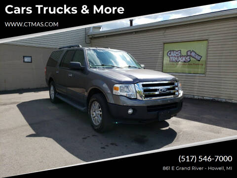 2014 Ford Expedition EL for sale at Cars Trucks & More in Howell MI