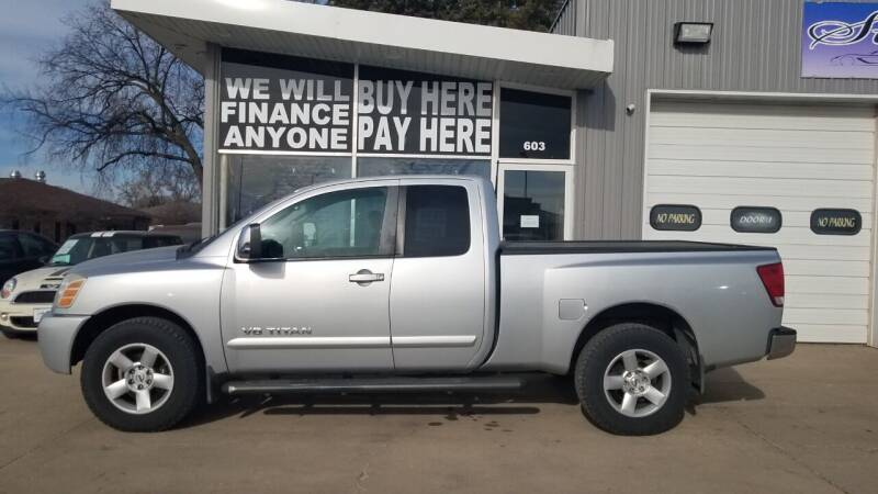 2005 Nissan Titan for sale at STERLING MOTORS in Watertown SD