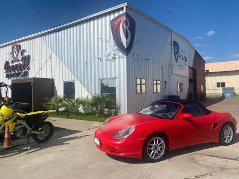 2003 Porsche Boxster for sale at Barrett Auto Gallery in San Juan TX