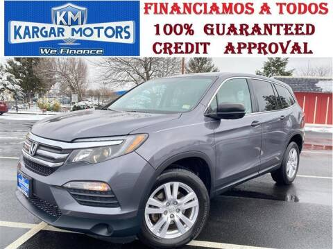 2018 Honda Pilot for sale at Kargar Motors of Manassas in Manassas VA