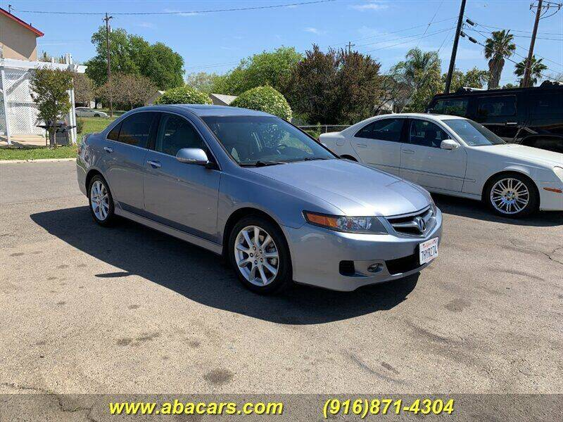 2007 Acura TSX for sale at About New Auto Sales in Lincoln CA