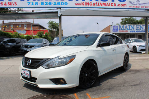 2018 Nissan Altima for sale at MIKEY AUTO INC in Hollis NY