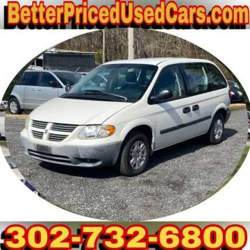 2006 Dodge Caravan for sale at Better Priced Used Cars in Frankford DE