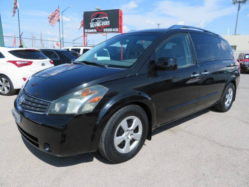 2008 Nissan Quest for sale at Moving Rides in El Paso TX