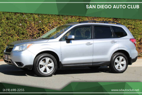 2015 Subaru Forester for sale at San Diego Auto Club in Spring Valley CA