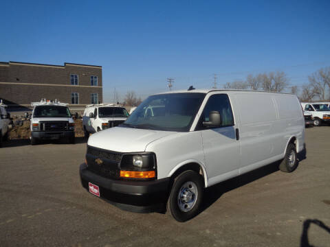 2017 Chevrolet Express Cargo for sale at King Cargo Vans INC in Savage MN