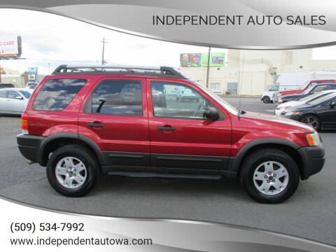 2003 Ford Escape for sale at Independent Auto Sales in Spokane Valley WA
