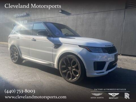 2019 Land Rover Range Rover Sport for sale at Drive Options in North Olmsted OH