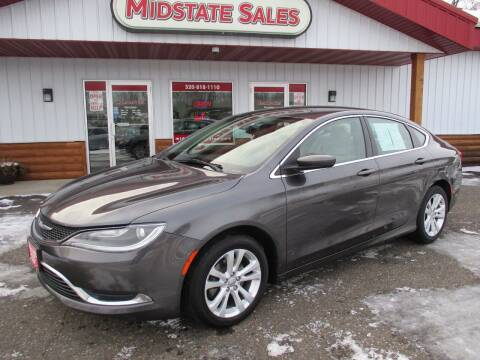 2016 Chrysler 200 for sale at Midstate Sales in Foley MN