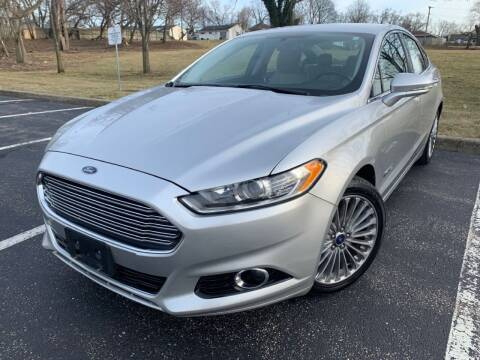 2014 Ford Fusion Hybrid for sale at Lifetime Automotive LLC in Middletown OH