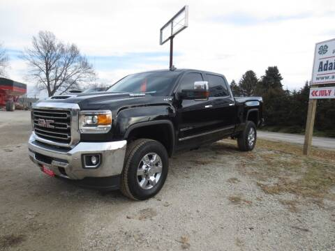 2018 GMC Sierra 2500HD for sale at GREENFIELD AUTO SALES in Greenfield IA