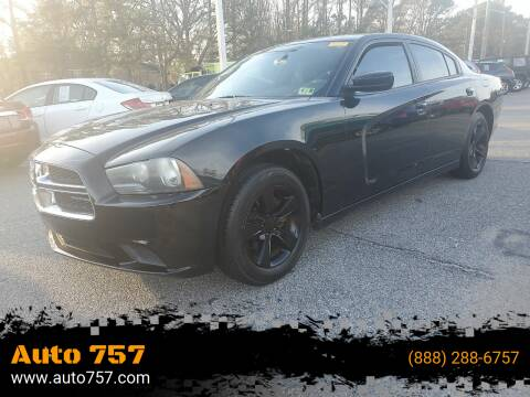 2012 Dodge Charger for sale at Auto 757 - In House Finance in Norfold VA