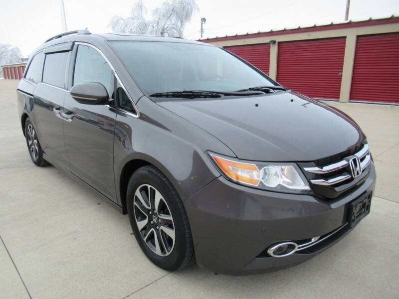 2014 Honda Odyssey for sale at Perfection Auto Detailing & Wheels in Bloomington IL