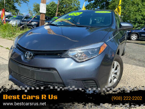 2014 Toyota Corolla for sale at Best Cars R Us in Plainfield NJ