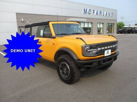 2021 Ford Bronco for sale at MC FARLAND FORD in Exeter NH